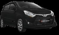 Toyota New Agya Medan hitam