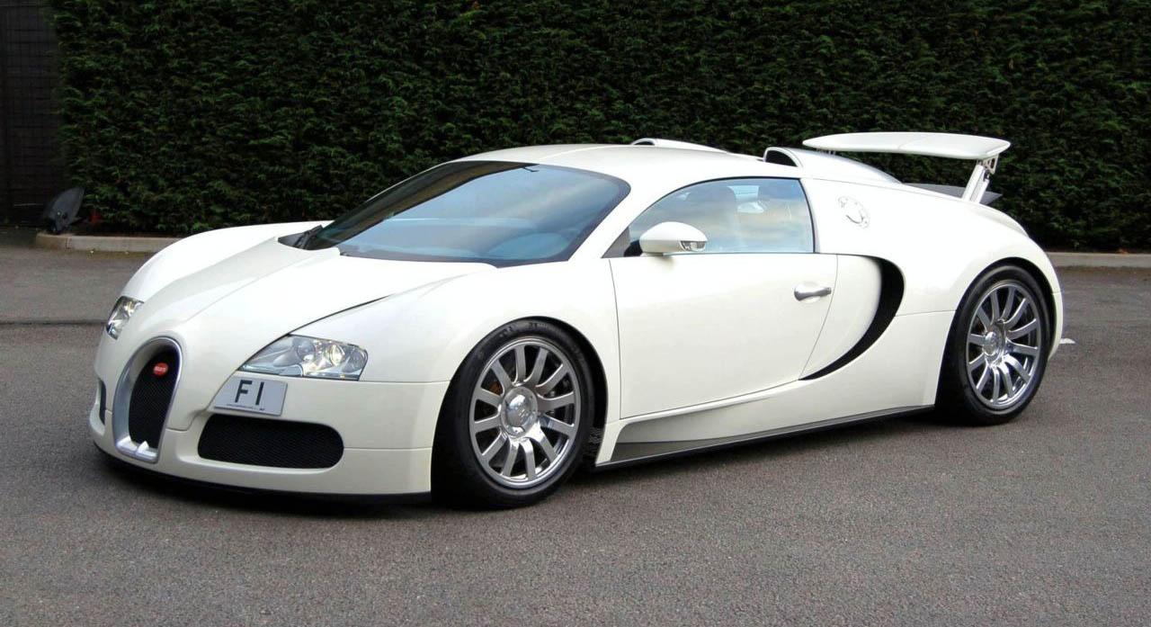 Raimu Awas Kesikot Bugatti Veyron White