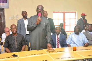 Governor of Edo state, Godwin obaseki , Edo state CBN school
