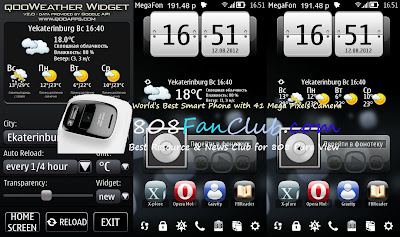 qooWeather Widget 4 34 for Nokia N8 Free Signed App Download