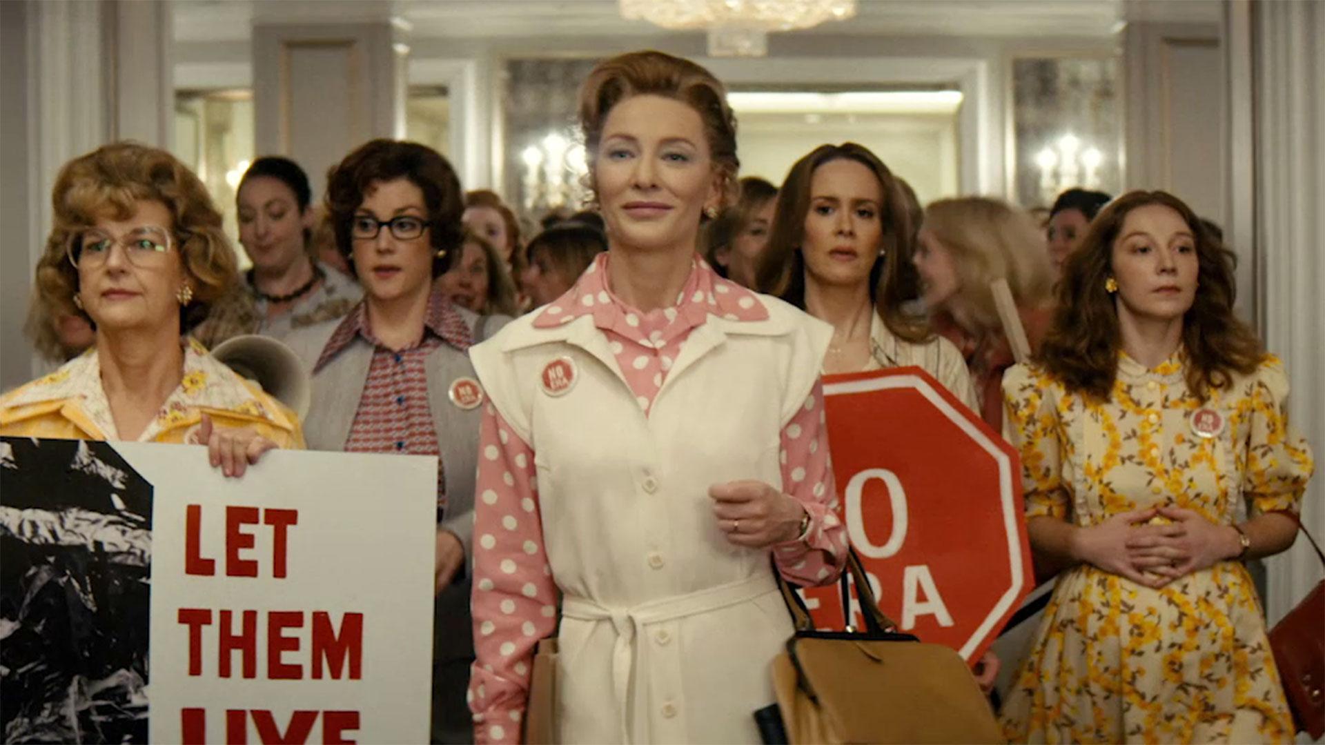 Cate Blanchet es Phyllis Schlaffy, la líder conservadora de Mrs. America