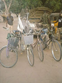 Troops Gunned Down Fleeing Terrorists In Maiduguri [Graphic Photos]
