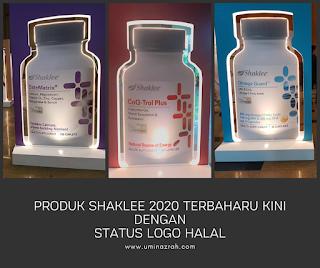 Produk Shaklee 2020 Terbaharu Kini Dengan Status Logo Halal