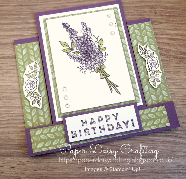 FREE Stamp set - Lots of Lavender from Stampin' Up!