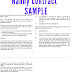 Nanny contract sample template UK