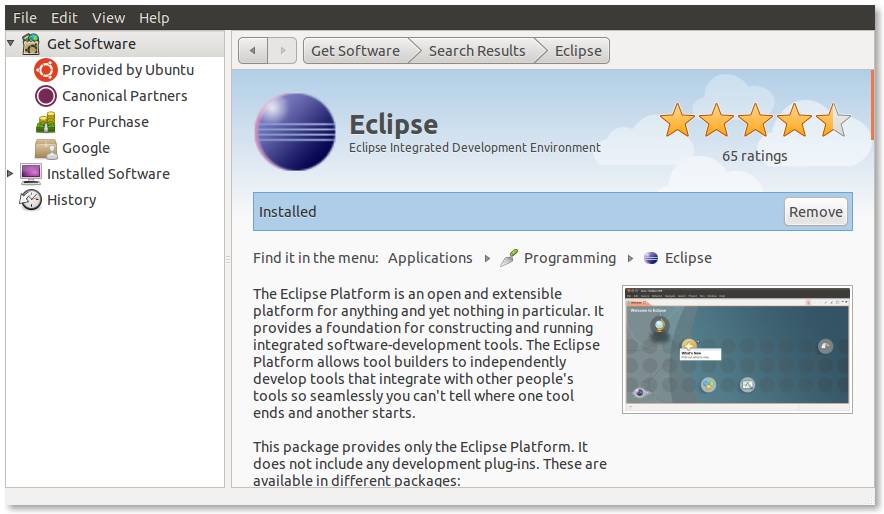 eclipse android development tools could not be found