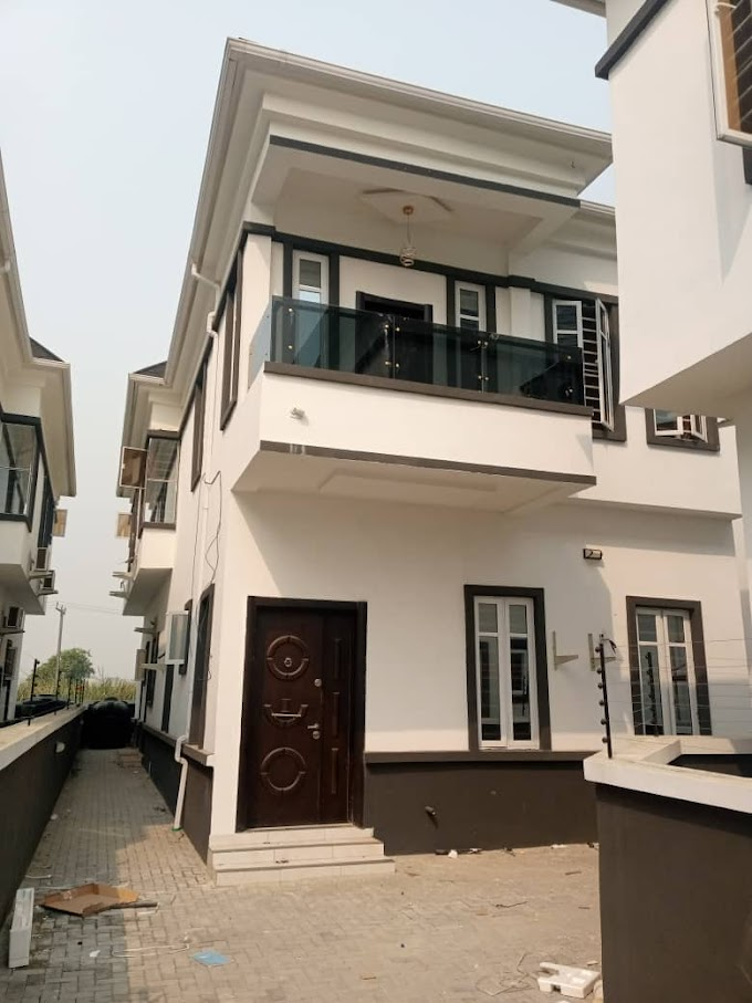New: 4 Bedroom Semi Detached Duplex for Rent at Ikate