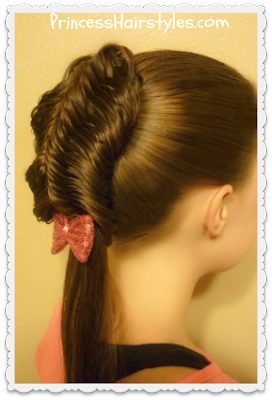 Cage braid with lace fishtail braids tutorial