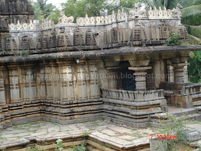Side view with jagati and Porch visible