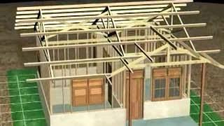 Gambar Rumah Sederhana Bentuk Animasi