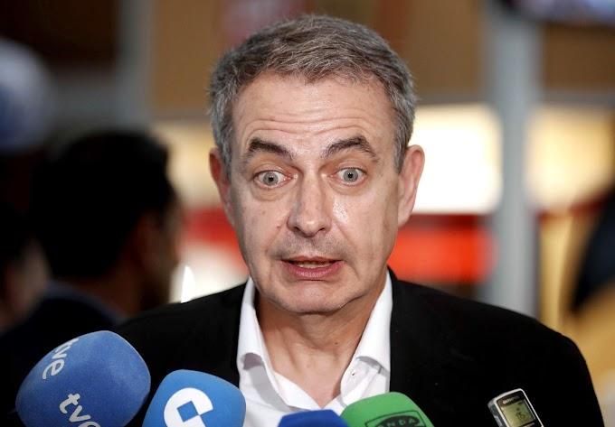 """Zapatero: """"España debe apoyar la unidad Nacional de Marruecos""""."""