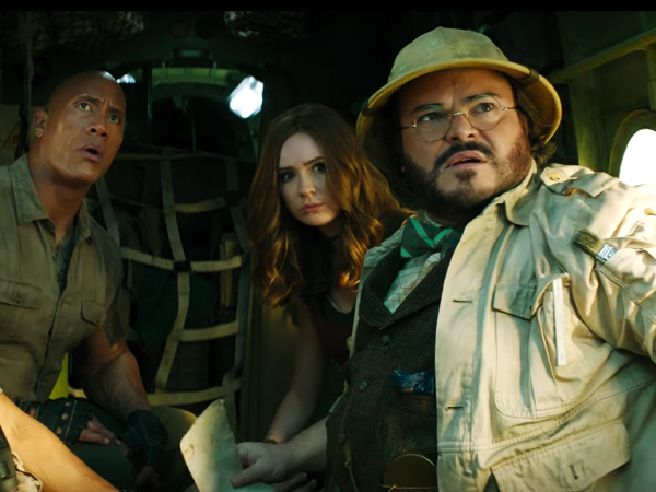 jumanji the next level trailer out