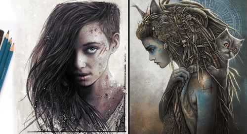 00-Christopher-Lovell-Character-Drawings-Portraits-and-Monsters-www-designstack-co