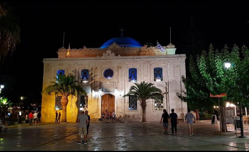 The Venetian Loggia  Crete Greece