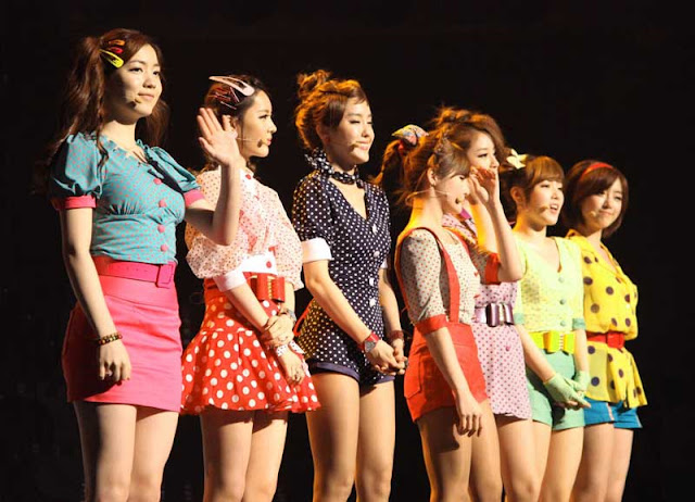 Girl Band T-ARA Korea