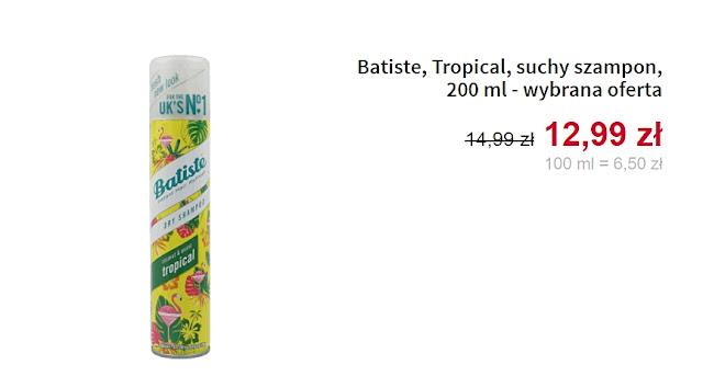Batiste - Suchy szampon