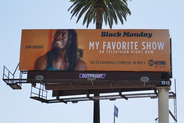 Black Monday 2020 Emmy FYC billboard