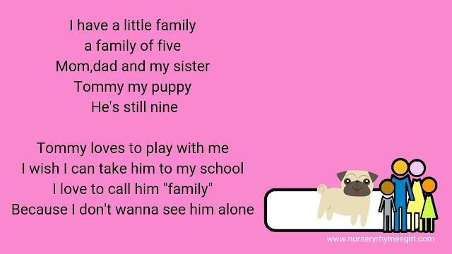 Free Song Lyrics For Kids 3 Family