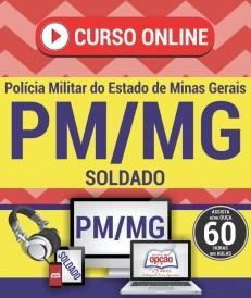 Vídeo-aulas Soldado concurso PM MG - baixar Curso online