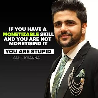 sahil khanna quotes