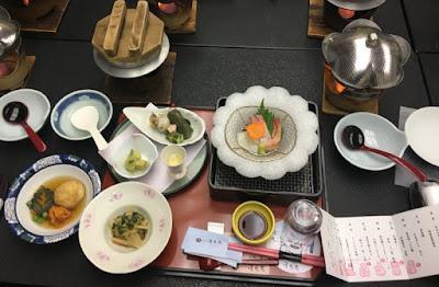 清風苑の夕食