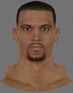 NBA 2K13 Francisco Garcia Cyberface Patch