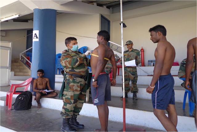 UP के 13 जिलों में 26 अप्रैल को प्रस्तावित सेना भर्ती रैली परीक्षा को कोरोना संक्रमण के चलते स्थगित