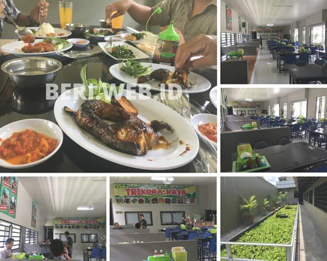 Dibandrol dengan harga terjangkau, Rumah Makan Trikora Raya ini boleh dibilang tempat makan yang sangat nyaman, membuat pengunjungnya betah berlama-lama di rumah makan ini.