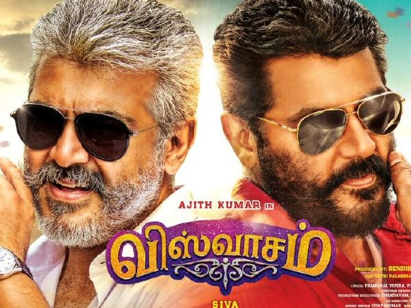 Ajith Kumar, Nayanthara Viswasam movie is top list in Tamil 100 Crore Club Movies List. Viswasam Is Fastest 100 Crore Kollywood Box Office Records