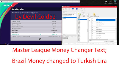 PES 2021 STR Editor By Devil Cold52