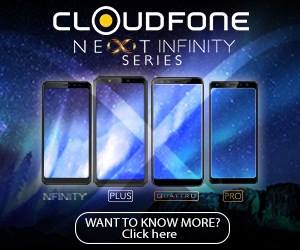 CloudFone Infinity Series