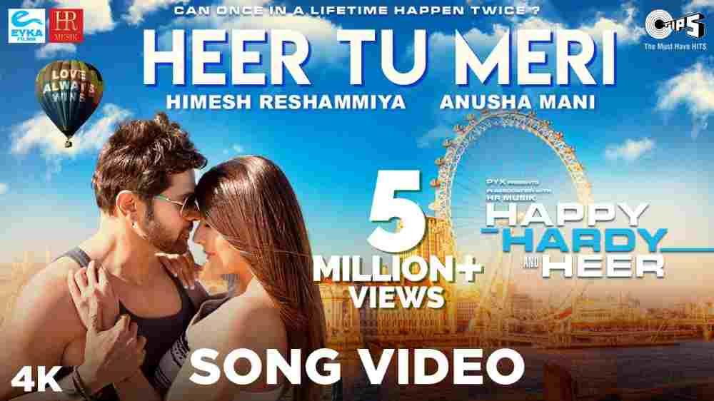 Heer Tu Meri Lyrics - Happy Hardy And Heer