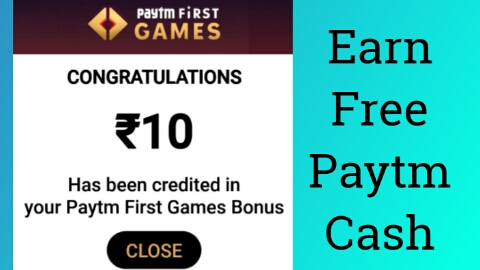Paytm First Games Unlimited Trick : Earn Instant Paytm Cashback Just For Playing Games In Gamepind
