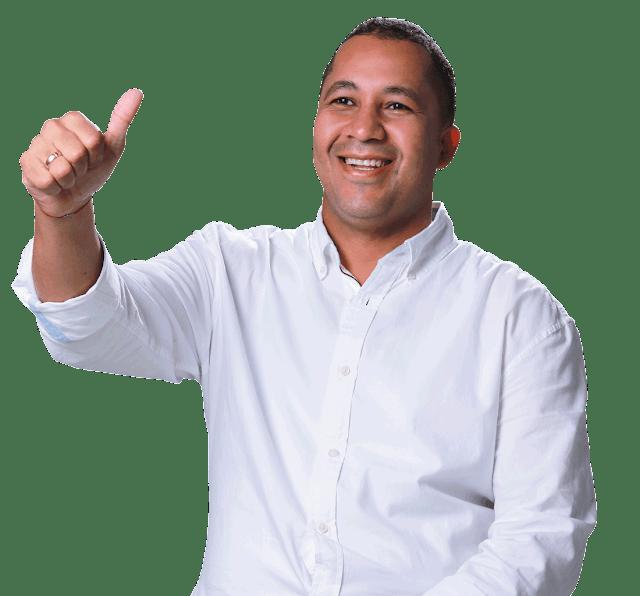 José Ramiro Bermúdez Cotes alcalde electo de Riohacha 2020 - 2023