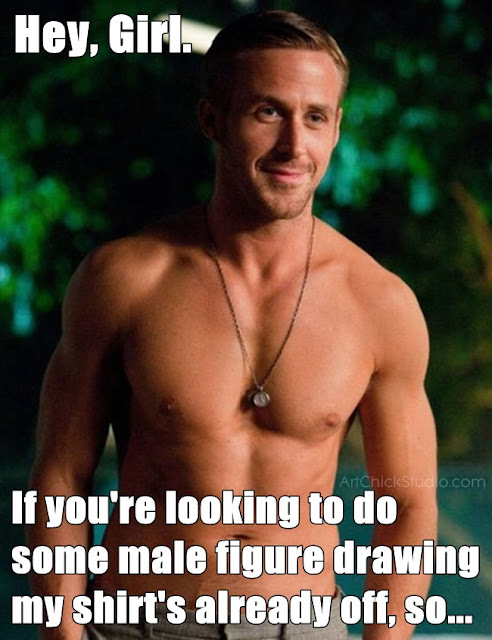 Hey Girl Male Figure Drawing Meme