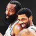 Duet Harden-Kyrie yang efektif saat Kevin Durant absen
