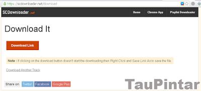 Download Lagu Tanpa Software di Souncloud