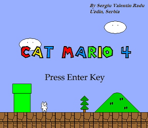 Download Game Cat Mario 4 PC Full Version