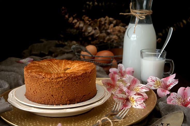 Pastel vasco o gateau basque