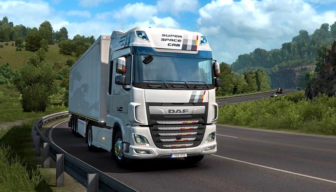 Euro Truck Simulator 2 passa a contar com série especial DAF XF Unity Edition