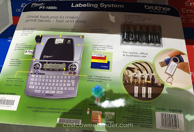 Costco 558526 - Brother P-touch PT-1880c Labelmaker - practical for any household