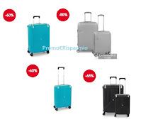 Promozione Roncato : zaini, Trolley e valige scontate oltre il 60%