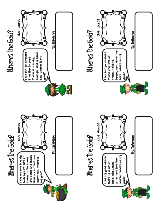 Sarah's First Grade Snippets: St. Patty's Day Literacy