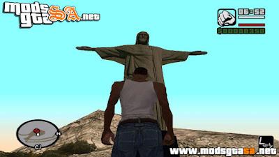 Mod Cristo Redentor no Mout Chiliad