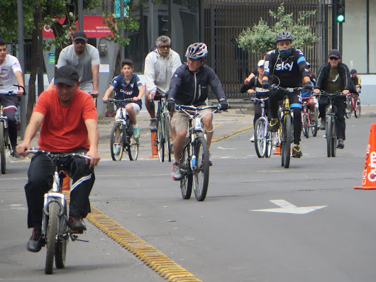Cyclovia, the South American tradition where cyclists take over the road every Sunday
