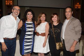 مشاركة شريهان وخالد صلاح وياسر سليم والعديد من الشخصيات الإعلامية والفنانين  في حفل الإفطار الخاص بOn.TV