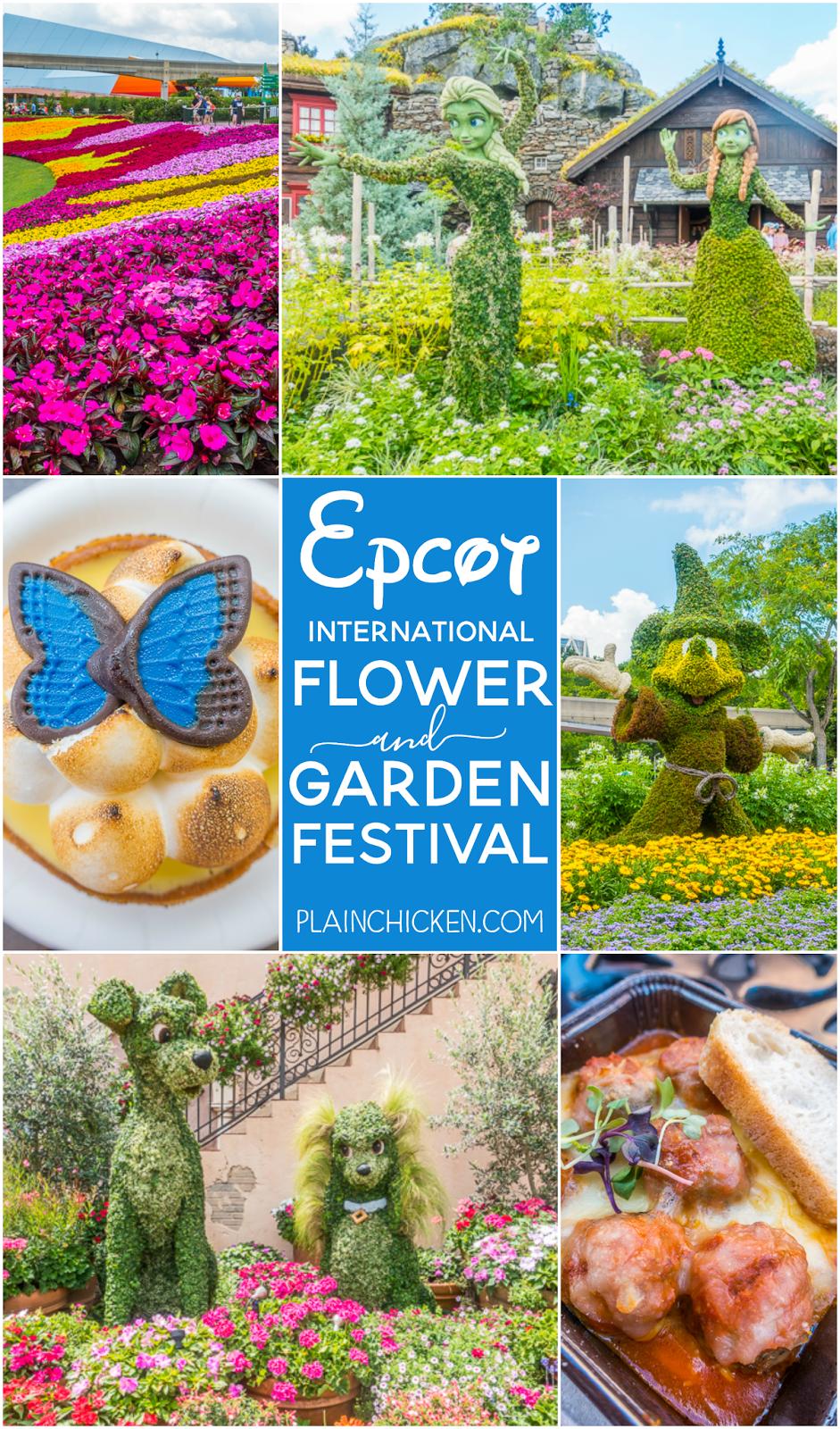 Epcot International Flower And Garden Festival 2017 Plain Chicken