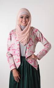 model baju Muslim batik Kerja terbaru