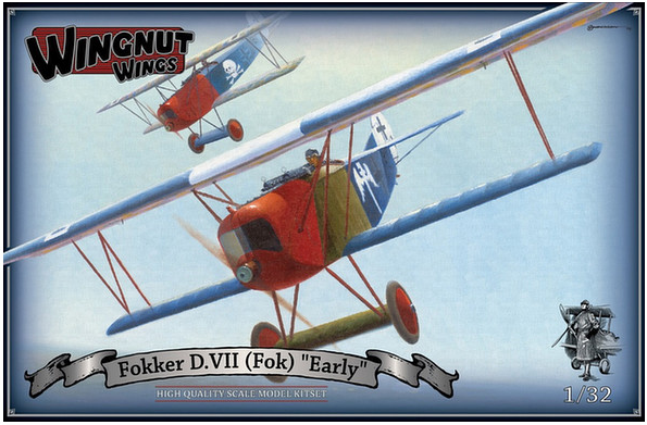 1/32 Wing Nut Wings Fokker D.VII Early new release 2017