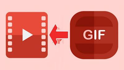 تحويل صورة متحركة إلى فيديو